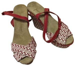 Jean-Michel Cazabat Red/White Wedges