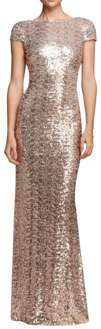Item - Blush Sequin Gown Long Formal Dress Size 2 (XS)