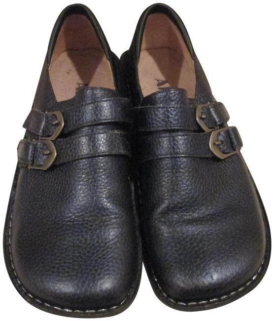 Item - Blue All 624 Double Buckle Mules/Slides Size EU 39 (Approx. US 9) Regular (M, B)