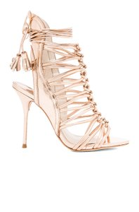 Sophia Webster Classic Kardashian Rose Gold Sandals