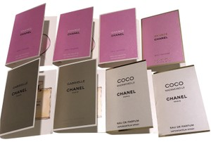Chanel Chanel Chanel & Gabrielle sample perfumes bundle