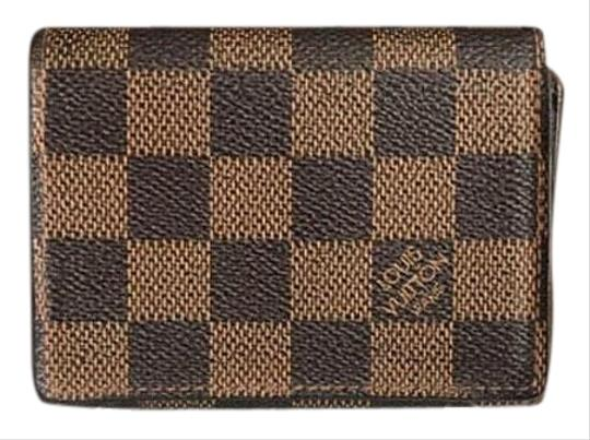 247fba1fc33b Louis Vuitton Card Holder Damier Ebene - Tradesy