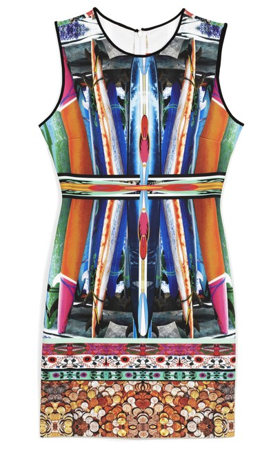 Item - Multicolor Long Board / Spring Summer 2013 Short Night Out Dress Size 2 (XS)
