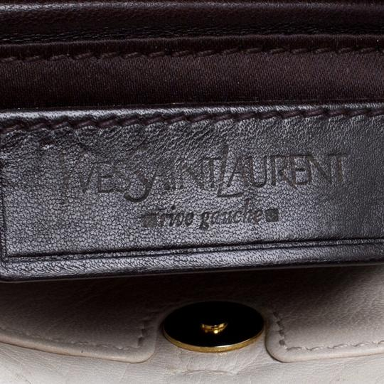 Saint Laurent Leather Shoulder Bag Image 9