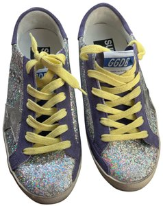 Golden Goose Deluxe Brand glitter, purple Athletic