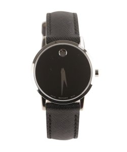 Movado Museum Ladies Leather Watch