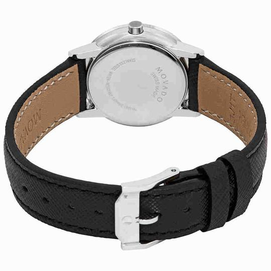 Movado Museum Ladies Leather Watch Image 2