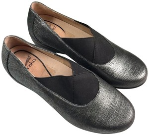 Dansko Black/Gray Mules