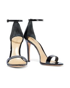 SCHUTZ Night Out Date Night Special Occasion Blackpatentleather Black Patent Leather Sandals