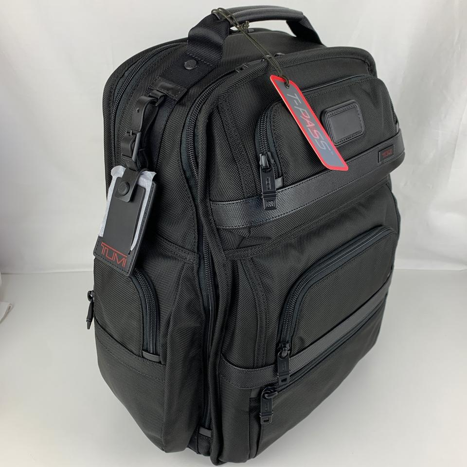 74e9c1e1d Tumi New Alpha 2 T-pass Business Class Brief Pack Black Nylon Backpack -  Tradesy