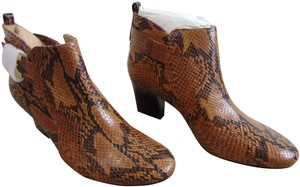 Tory Burch Snake Leather Brown Boots