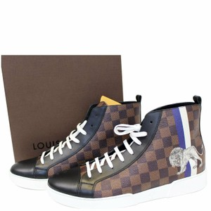 2177048ab994 Louis Vuitton Damier Ebene Sneakers Brown Athletic