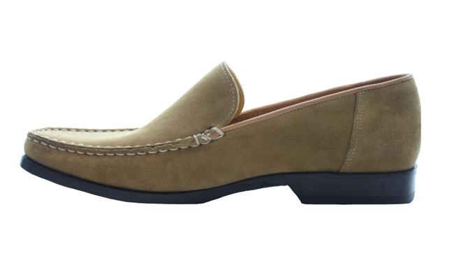 Item - Tan Suede Slip On Loafers Platforms Size US 7.5 Regular (M, B)