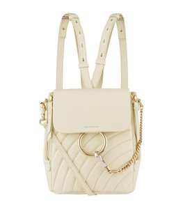 Chloé Faye Quilted Backpack