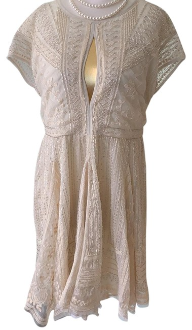 Item - Beige Short Night Out Dress Size 2 (XS)