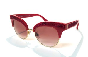 de86fa389a26 Dolce Gabbana Vintage New Condition Cat Eyes DG 6109 3097 8D Free 3 Day  Shipping