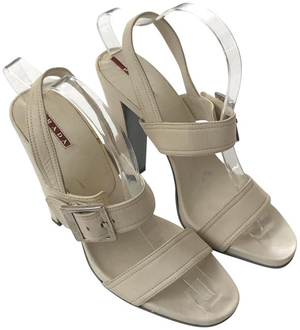 Item - Ivory Classic Sandals Size EU 40 (Approx. US 10) Regular (M, B)