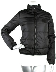 Gucci Women's Nylon Down Feather Motorcycle Jacket