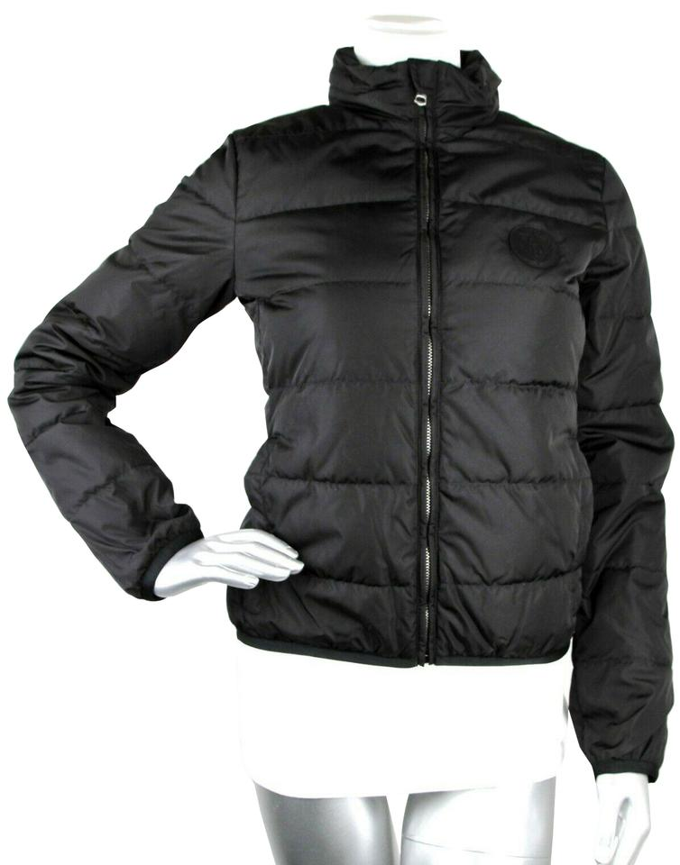 4dd694d5d0 Gucci Black Women's Nylon Down Feather Puffer It 40 429854 Jacket Size 4  (S) 57% off retail