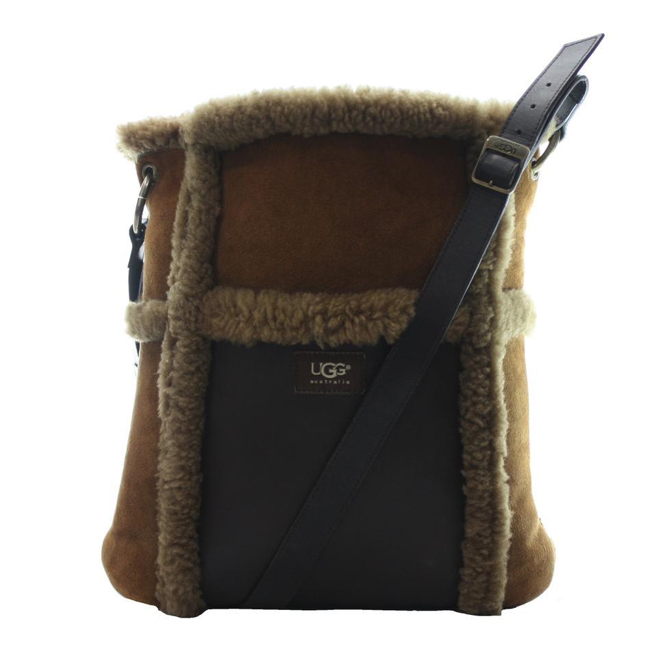 24cc602c1 UGG Australia Messanger Brown Suede Leather Cross Body Bag - Tradesy