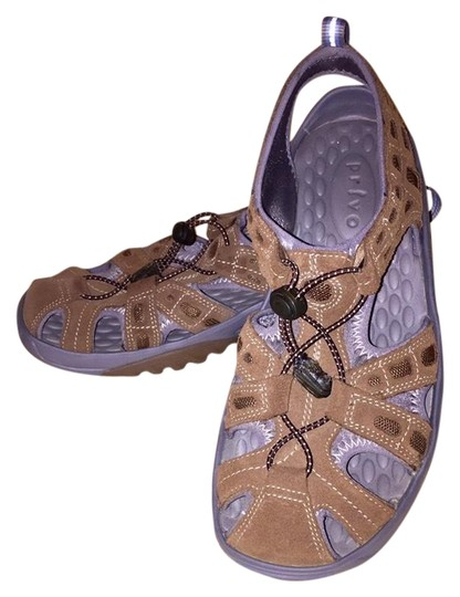 8bc1744e6161 Privo Brown   Gray By Clarks Sandals. Size  US 8 Regular (M ...