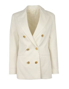The Row white Blazer