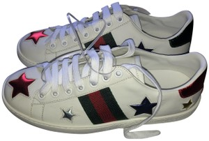 Gucci Sneakers Stars White Athletic