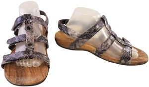 ffa458d2932d Vionic Orthahell Woman Snake Woman Size 10 Black GRAY Sandals