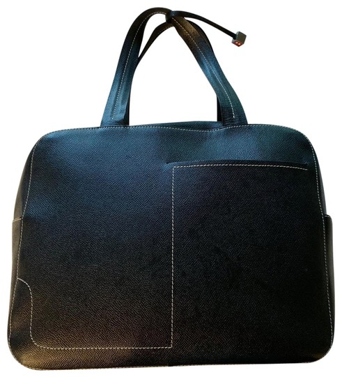 Preload https://img-static.tradesy.com/item/25267317/bally-textured-carryall-with-hidden-key-clasp-and-wallet-black-leather-satchel-0-1-540-540.jpg