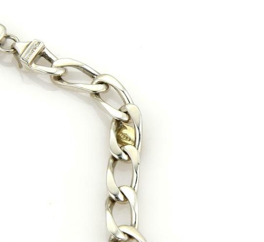 Tiffany & Co. Sterling Silver 18k Yellow Gold Curb Link Chain Necklace Image 4