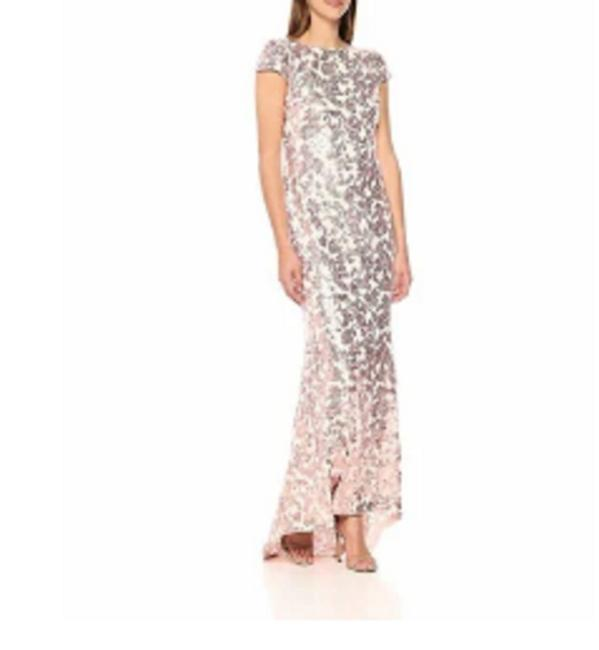 Preload https://img-static.tradesy.com/item/25267593/calvin-klein-pink-women-cap-sleeve-sequin-gown-long-formal-dress-size-8-m-0-0-650-650.jpg