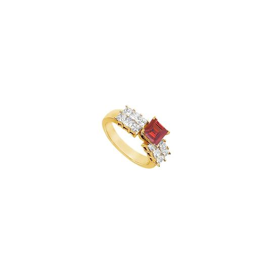 Preload https://img-static.tradesy.com/item/25267609/red-created-ruby-and-cubic-zirconia-engagement-14k-yellow-gold-175-c-ring-0-0-540-540.jpg