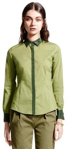Brooks Brothers Button Down Shirt green