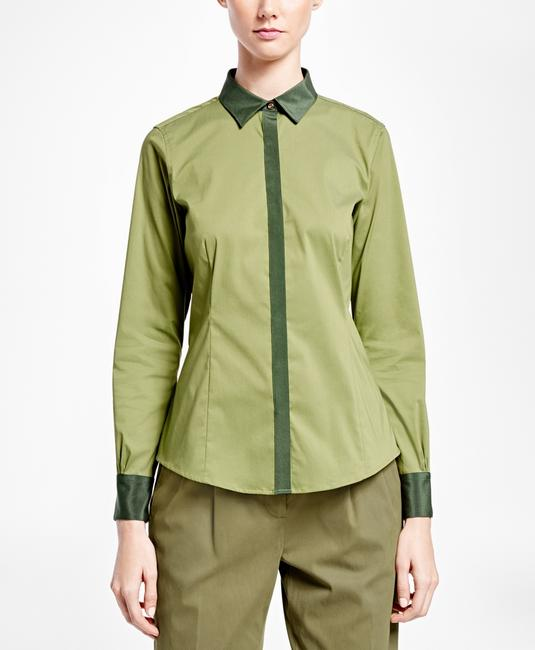 Brooks Brothers Button Down Shirt green Image 1