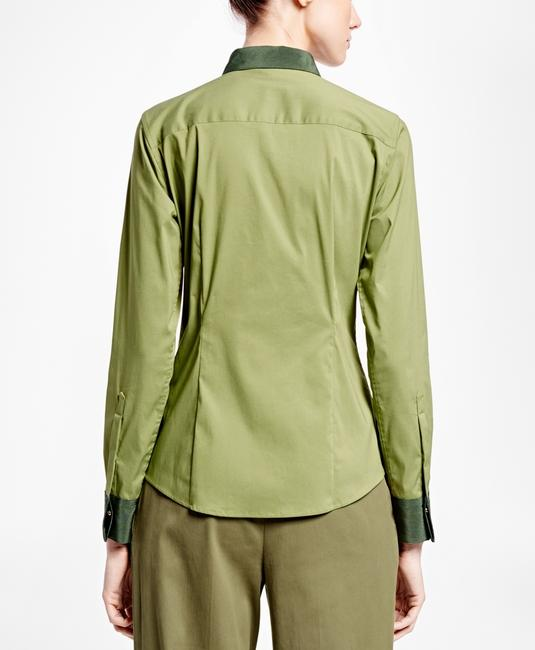 Brooks Brothers Button Down Shirt green Image 2