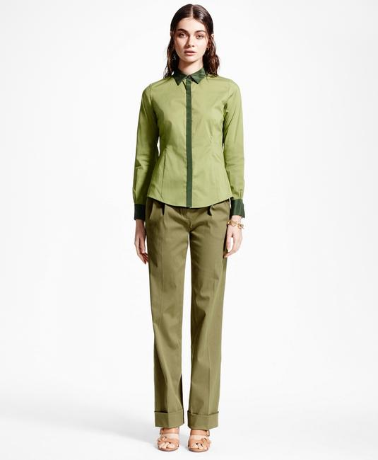 Brooks Brothers Button Down Shirt green Image 3
