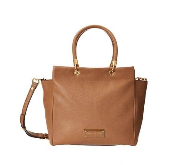Marc by Marc Jacobs Mj Too Hot To Handle Bentley Tote in TAN BROWN PRALINE/GOLD HARDWARE Image 2