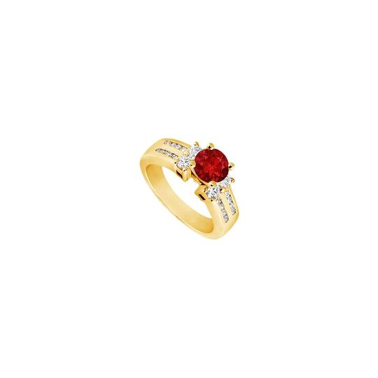 Preload https://img-static.tradesy.com/item/25267650/red-created-ruby-and-cubic-zirconia-engagement-14k-yellow-gold-175-c-ring-0-0-540-540.jpg