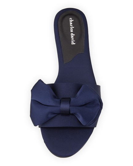 Charles by Charles David Slipper Bow Sandals Image 1