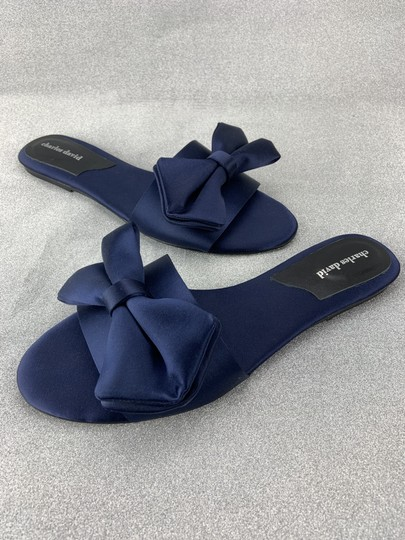 Charles by Charles David Slipper Bow Sandals Image 2