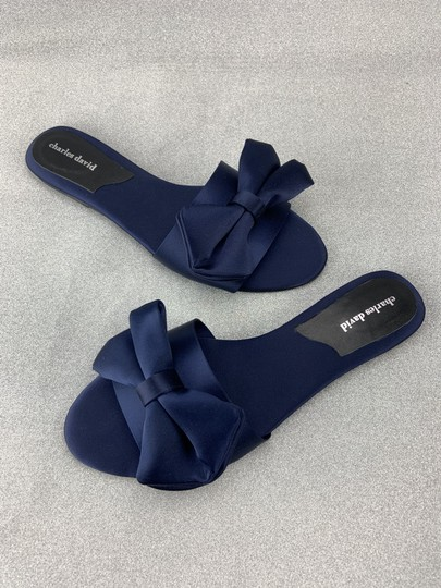 Charles by Charles David Slipper Bow Sandals Image 7