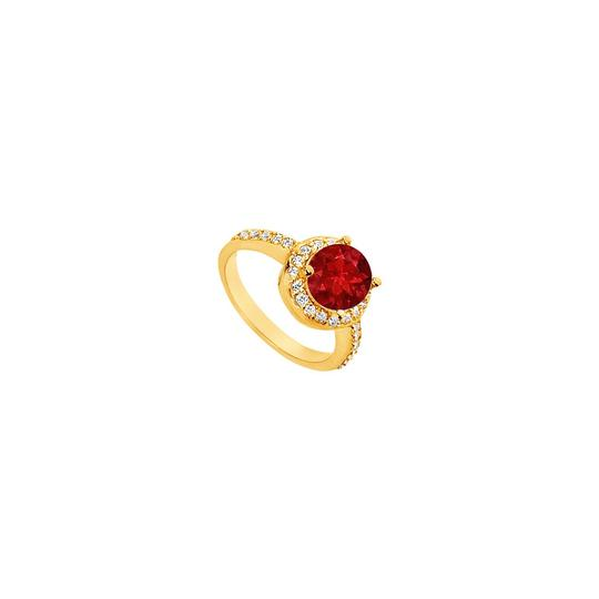 Preload https://img-static.tradesy.com/item/25267700/red-created-ruby-and-cubic-zirconia-engagement-14k-yellow-gold-250-c-ring-0-0-540-540.jpg
