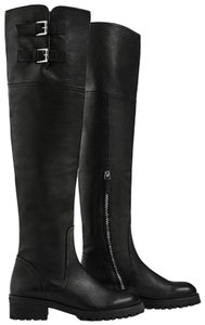 Zara Otk Leather Black Boots