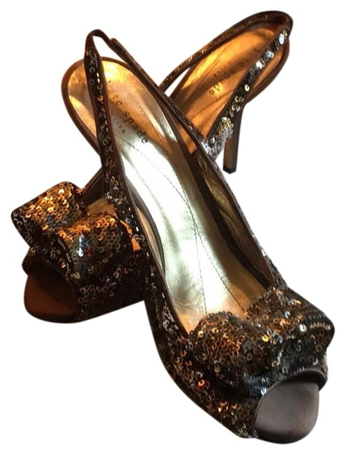 Item - Gold All That Glitters Formal Shoes Size US 8 Regular (M, B)
