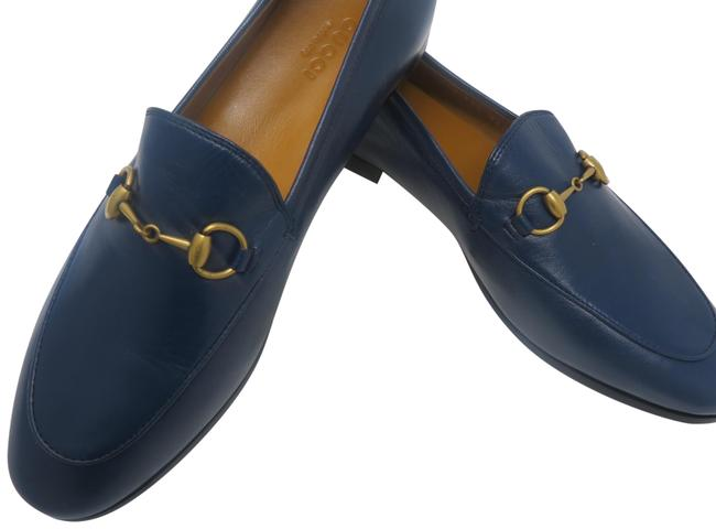 Item - Blue Na Flats Size EU 37.5 (Approx. US 7.5) Narrow (Aa, N)