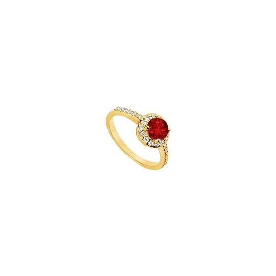 Preload https://img-static.tradesy.com/item/25267902/red-created-ruby-and-cubic-zirconia-engagement-14k-yellow-gold-150-c-ring-0-0-540-540.jpg