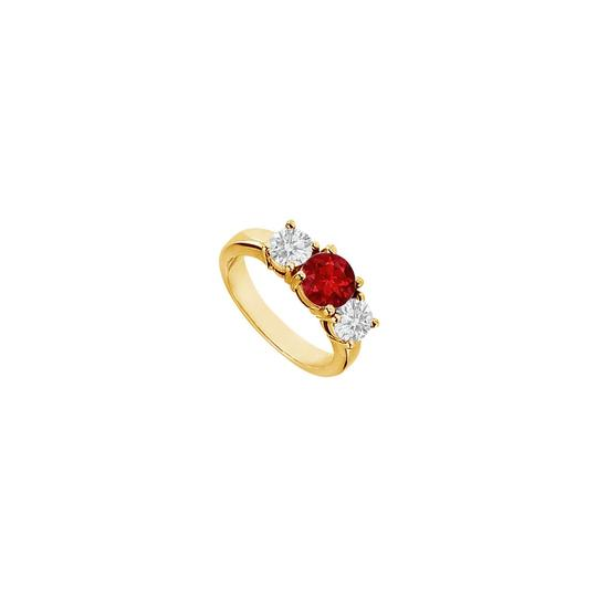 Preload https://img-static.tradesy.com/item/25267948/red-created-ruby-and-cubic-zirconia-engagement-14k-yellow-gold-200-c-ring-0-0-540-540.jpg