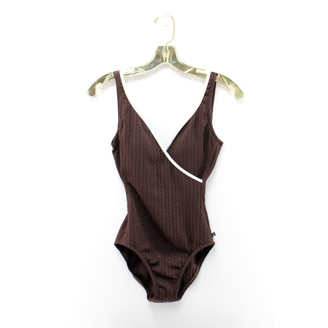 Preload https://img-static.tradesy.com/item/25267981/nautica-brown-cable-knit-scoop-back-faux-wrap-swimsuit-one-piece-bathing-suit-size-6-s-0-0-650-650.jpg