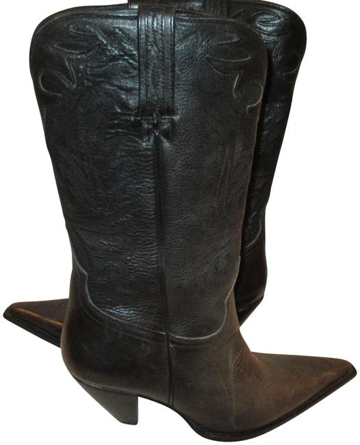 Item - Chaocoal Made In Spain Leather Artisan Hand Crafted Boots/Booties Size US 9.5 Regular (M, B)