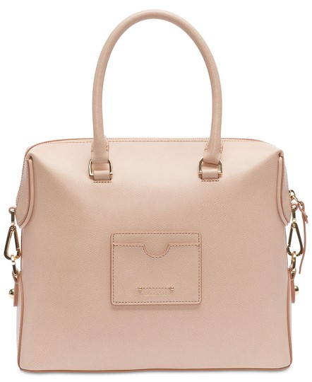 Calvin Klein Sabrina Leather New With Tag Satchel in Beige Image 1